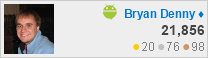 profile for Bryan Denny at Android Enthusiasts